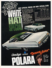 Vintage 1967 Magazine Ad Dodge Polara Very Special Prices On Very Special Cars