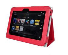 Genuine Leather Stand Pouch Case Cover For Amazon Kindle Fire HD 7 Tablet RD 04