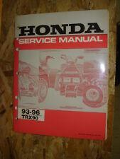 1993-1996 Honda TRX90 Shop Service Manual