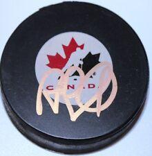 Rob Blake signed Team Canada puck COA