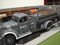 CHEVROLET PUMPER FIRETRUCK 1941 au 1/16 no 1/18 HIGHWAY 61 camion pompiers 50340