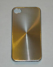 Silver Aluminum Metal Hard Case for Apple iPhone 4 4S