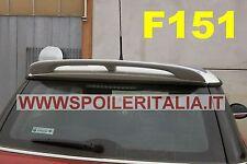 SPOILER ALETTONE MINI COOPER  S  DOPO 2007 CON PRIMER F151P SI151-5a