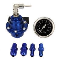 High Performance Car Fuel Pressure Gauge Adjustable Fuel Pressure Regulator H9V1