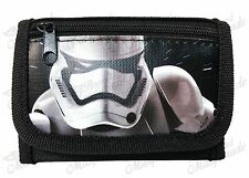 Star Wars Stormtrooper Kids Boys Black Tri-Fold Wallet