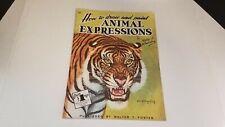 Craft Animal Expressions 99 Walter Wilwerding Walter Foster 1989 Art Book