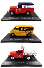Lot de 3 Camions IAME DKW IKA 1/43 Voiture Miniature SALVAT Model Truck Car SAL3
