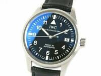 IWC Pilot Watch Mark XV IW325301 Automatic Leather Belt Watch Working Used Ex++
