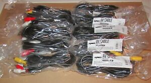 Lot of 10 Original Xbox Console AV Cables Wholesale Lot Fast Shipping