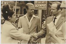 Frank Latimore et Rukmina Sukarno à Rome Vintage silver print,Frank Latimore,