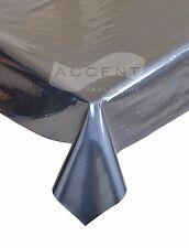 PVC Vinyl Tablecloth By The Metre, 140cm wide, plain and semi plain  Designs,