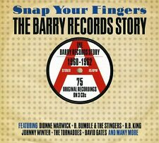 Snap Your Fingers: B - Snap Your Fingers: Barry Records Story 1960-62 [New CD]