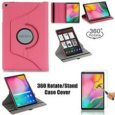 """Samsung Galaxy Tab A 10.1"""" (2019) T510 Stand Flip Shell 360 Rotating Case Cover"""