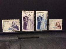1960 MONACO Airmail Sc# C55-C58 Set of 4 MNH