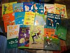 Dr. Seuss Beginner Books and Bright and Early Books others  Hardcover Lot of 16
