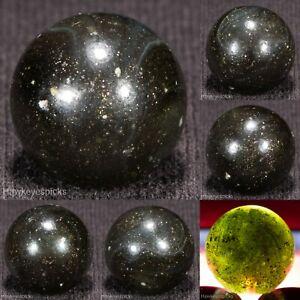 Peltier AV LOADED CANNON BALL Rainbo Vintage Marble, 5/8- nm+ Hawkeyespicks bt