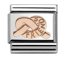Nomination Encanto Rosa Oro Nudo de amigos RRP £ 20