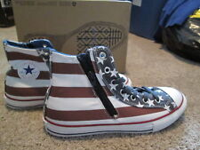 NEW UNISEX Converse CT HI Side-Zip Sherpa-Lined Sneakers Stars & Bars FREE SHIP