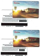Tim Horton's 2011 Gift Card FD 26036 B ( 2 Different )