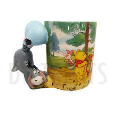 Disney Parks Winnie the Pooh Eeyore and Friends Coffee Mug NEW! FREE SHIP
