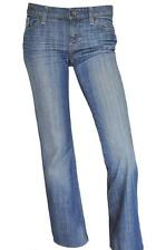 GAP SZ 29 (8) WOMENS Blue Faded Wash Mid Rise Short Leg Boot Cut Denim Jeans
