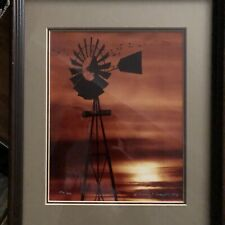 Windmill Original Color Photograph Limited Edition by Thomas Mangelsen