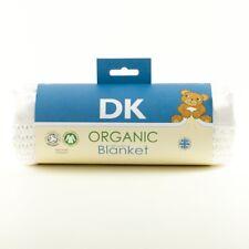 DK coton bio cellulaire landau/berceau couverture. 75x100cm. Bargain secondes