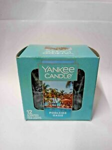 Yankee Candle Scented Tea Light Box Of 12 scented Candles you choose 1