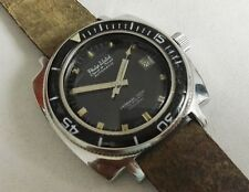Philip Watch caribbean ref 706 1000m 43mm automatic diver watch 1960's RARE
