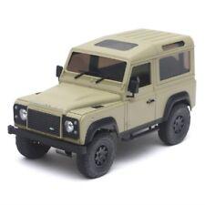 Defender D90 Pre-Cut White Hard Body Fits for 1/18 RC Crawler Kyosho Mini-Z 4x4