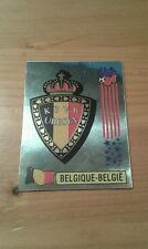 N°382 BADGE LOGO FOIL # BELGIQUE-BELGIË PANINI USA 94 WORLD CUP ORIGINAL 1994
