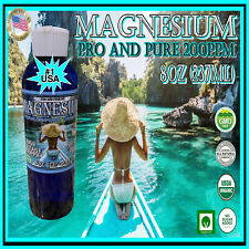 High Voltage Plasma Arc Colloidal Magnesium 8oz Pro and Pure 200ppm