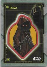 2020 Topps Star Wars Holocron Jawa Creature Patch Jawa #P-JJ