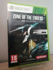 Zone of the Enders HD Collection Xbox 360 Complet + Démo Metal Gear Rising