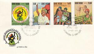 Guinea Bissau 1983 Democratic Union of Women FDC Unadressed VGC