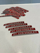 Lot of 47 Patches By Chevrolet Embroidered Car Truck Patch Red Chevy