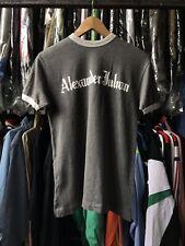 ALEXANDER JULIAN SPEELLOUT LOGO RING T SHIRT GRAY SMALL