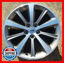 "LINCOLN MKS 2009-2012 Factory OEM Wheel 19"" Rim 3767 Charcoal/CNC w/ Cap TPMS #A"