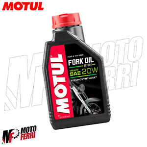 MF2427 - 1LT FORK OIL MOTUL OLIO FORCELLA 20W SINTETICO ROAD & OFF ROAD SAE 20