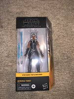 Star Wars Black Series Ahsoka Tano Clone Wars 6 Inch Walmart Exclusive In Hand