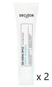 Decleor NEROLI BIGARADE (Hydra Floral) BB Cream SPF15 15ML X 2 = 30ML