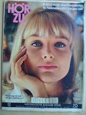 Hörzu 12 - 1965 Programm 21.-27.3. Peter Weck >Musik für sie< Harry Domela Mecki