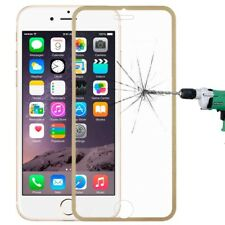 Tempered Genuine Glass Screen Protector Edge to Edge Gold for Apple iPhone 6s/6