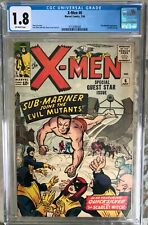 X-Men #6 (1964) CGC 1.8 -- Submariner appearance; Stan Lee & Jack Kirby story