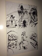 Metal Gear Solid Original Comic Art Ashley Wood 3a ThreeA Threezero