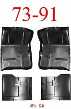 4Pc 73 91 Chevy Blazer Front & Rear Extended Floor Pan Kit, GMC Jimmy