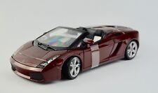 Lamborghini Gallardo Spyder 1:18 Model Car Maisto Special Edition, New