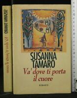 VA' DOVE TI PORTA IL CUORE. Susanna Tamaro. CDE.