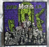 Misfits – Earth A.D. / Wolfs Blood - US 1986 Plan 9 / Caroline LP.  VG++ Ex