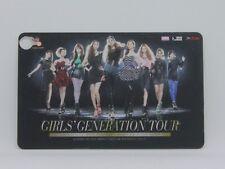 Girls Generation Tour 2012 in bangkok  Ticket Card SNSD kpop